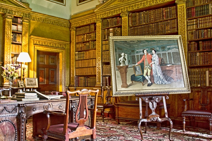 chippendale-library-desk-nostell-priory-via-farm-8-flickr